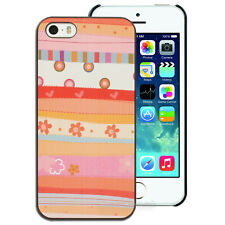 NEW Apricot Pink Flower Hard Back Case for Apple iPhone 4S 4 5S 5 Cover