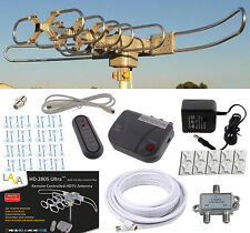 LAVA HD2805 HDTV DIGITAL ROTOR AMPLIFIED OUTDOOR TV ANTENNA CABLE Install Kit