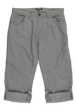 Peacocks Mens Linen Pants Bottoms Trouser Front and Back Pockets Zip Fly
