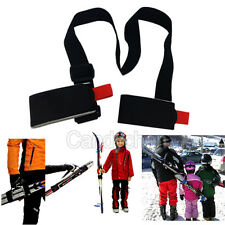 New Adjustable Lash Handle Velcro Straps Porter Ski Pole Shoulder Hand Carrier