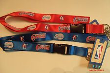 NBA Los Angeles Clippers Lanyard Key Chain ID Strap