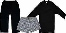 JOCKEY JERSEY LONG PYJAMA WITH KNITTED PANTS AND WOVEN SHORTS, XL TO 6XL