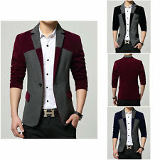 Mens Casual TOP Design Sexy Slim FIT Blazers Coats Suit Jackets 4 size 307