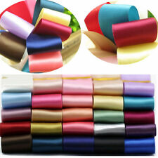 5 Yards Solid Color Fold Spandex Satin Band Lace Sewing Trim 25mm  CEUS