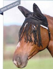 NEW SHIRES PADDED QUICK FIT (NO HEADCOLLAR NEEDED) FLY FRINGE