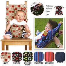 Baby Toddler Chair Harness Safety Dining Eat Seat Fastener Restraint W/Carry Bag