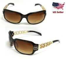 DG Eyewear Womens Rhinestones Designer Eyewear Shades Sunglasses Fashion Retro