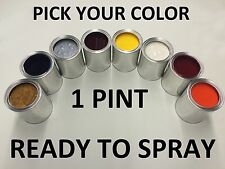PICK YOUR COLOR - 1 PINT - Ready to Spray Paint for TOYOTA CAR/TRUCK/SUV
