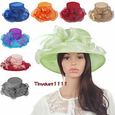 Women's Kentucky Derby Hat Horse Racing Event Church Dress Party Occasion Cap