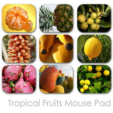 TROPICAL FRUITS CUSTOM MOUSE PAD PERSONALIZED PHOTO FAMILY MOUSEPAD  (TFMP-02)