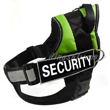 NEW Service Dog Harness Vest with Removable Chest Plate Free label Patches