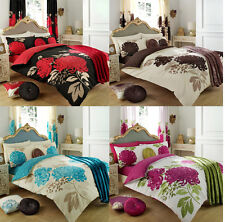 Duvet Cover Set With 2 Pillow Cases Bedding Quilt Cover Set All Sizes Kew