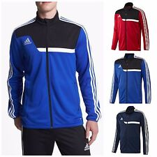 adidas Soccer Men's Tiro 13 Training Jacket Zip Long Sleeve Red, Blue, Navy S-2X