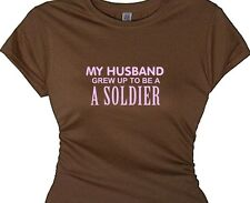 military t-shirt wife soldier husband honor t shirts army tees patriotic service