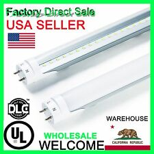 "4~25 Pack 48"" 22W 4Ft Day White 6000K LED T8 T10 Fluorescent Tube Light G13 Bulb"