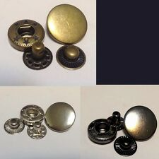 20 Set 8 mm Snap Fasteners Popper Press Stud Sewing Leather Button