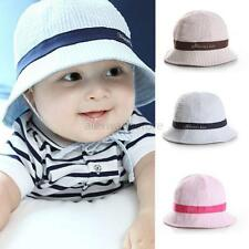 Toddler Infant Baby Girl Boys Sun Cap Summer Bucket Hat Beach Visor Cap Hat