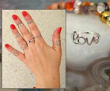 Midi Rings Above Knuckle Rings Stacking Ring Toe ring Silver 925 Adjustable ring