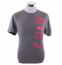 Aeropostale Men Short Sleeve AERO 87  Graphic T-Shirt Style 7607 $0 Free Ship