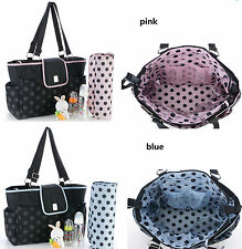 New pretty  baby diaper nappy bag pink/ blue(3660)