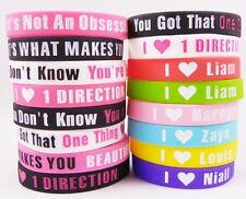 One Direction Silicone Bracelets