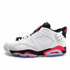 Nike Air Jordan 6 Retro Low [304401-123] Baketball White/Infrared 23-Black