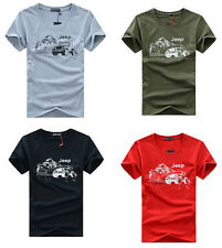 Mens T-shirts  Tops Casual Shirts Slim Fit Crew Neck Short Sleeve Muscle Tee Hot