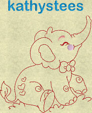 Cute Elephants - Machine Embroidery Designs Set of 10 On a CD