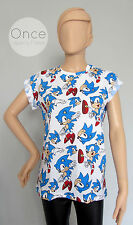 Ladies SEGA SONIC THE HEDGEHOG Video Game Character T shirt from PRIMARK