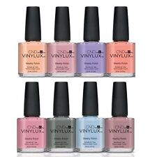 CND Vinylux Polish - 2015 Collection - Spring, Summer, Fall - 15ml / 0.5oz