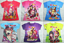 Masha e Orso Maglia bambina T-shirt Short Sleeves Masha and the Bear 0709007-12