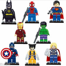SuperHero Mini Figures Avengers Joker Thor Bat Man Flash Deadpool Hulk Dead Pool