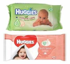 Huggies Wipes (Natural Care,Soft Skin Baby Wipes)