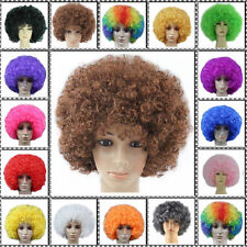 Curly Afro Cosplay Wigs Funky Disco Clown Style Mens/Ladies Costume Hair Wig