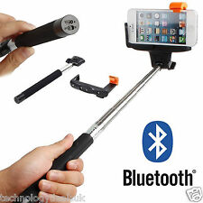 Adjustable Bluetooth Wireless Remote Shutter Selfie Stick Monopod Mount Holder