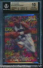 1995/96 FLAIR HOT NUMBERS ALONZO MOURNING CARD #8 BGS 10 PRISTINE #0008065565