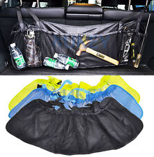 CAR REAR TRUCK SEAT BACK ORGANIZER POCKET STORAGE BAG HANGING CARGO NET MESH