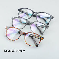 CD8002 full rim high quality retro acetate optical frame eyeglasses eyewear