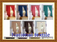 Thermal Backed Curtain Pairs With Light Reducing Simply Style