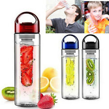 CEUS 700ML Fruit Fuzer Infusing Infuser Water Bottle Sports Health Juice Make