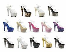 BEJEWELED-708 PLEASER Sexy Platforms Exotic Dancing Platform Sandals