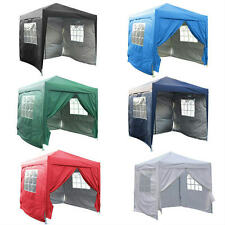 Quictent 8 X 8 EZ POP SET UP CANOPY TENT GAZEBO W/ 4 WALLS 100% Waterproof