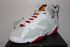 Air Jordan Retro 7 VII Hare White Grey Sneakers Boy's GS Size 3.5 4 6 6.5 7 New