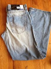 Helix Men's Jeans - Distressed - Loose Straight Fit - New with Tags - Retail $50