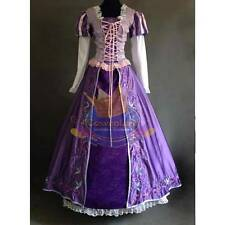 Custom Made Exquisite Rapunzel Costume Dress Ball Gown Disney Cosplay Tangled