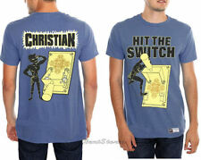 NEW WWE Christian Hit The Switch Wrestling Wrestler Adult Tee T-Shirt Tee L-3X