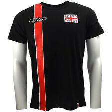 Tom Sykes 66 WSBK Stripe Black T-shirt Official 2015