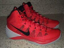 NEW Mens Sz 11 NIKE 2013 Zoom Hyperdunk Red Black Grey Basketball Shoes Sneakers