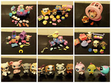 Littlest Pet Shop en el mar, Tea Party, Hamsters, restaurante, tienda de alimentos cifras