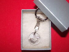 Lucky Sixpence Boxed Birthday Keyrings Any Year Free P&P Weddings Christmas